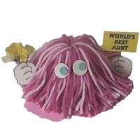 Image of Worlds Best Mom Yarn Bug