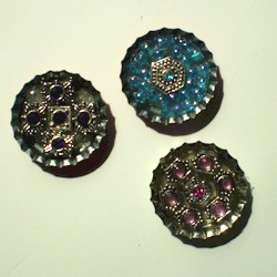 Bottle Cap Pins