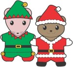 Image of Winter Buddies Paper Dolls