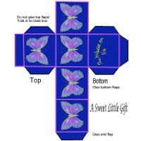 Image of Butterfly Gift Box