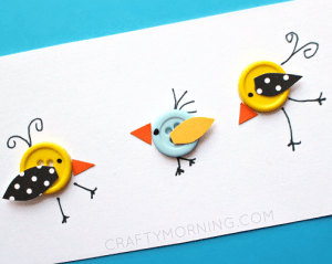 Button Birds