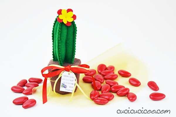 DIY Cactus Party Favor