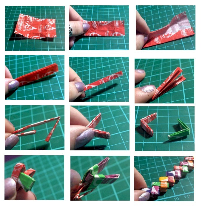 Image of Candy Wrapper Bracelet