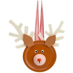 Image of Canning Jar Lid Reindeer