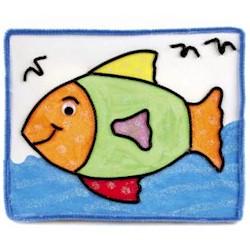Image of Canvas Sand Fish