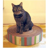 Image of Recycled Cardboard Kitty Pad