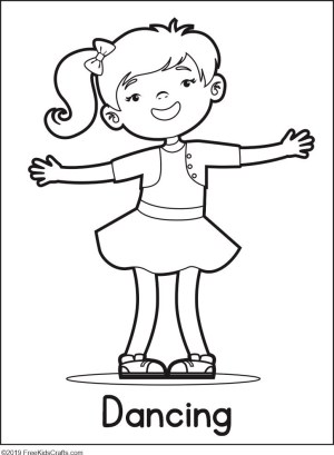 coloring pages phycial activites - photo#12