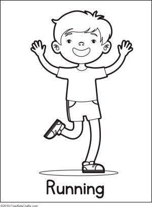 coloring pages phycial activites - photo#14