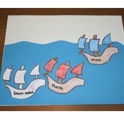 Image of Columbus Day Ships