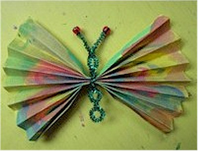 Image of Concertina Fold Butterfly