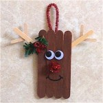 Image of Craft Stick Reindeer
