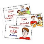 Image of Fathers Day Football Card