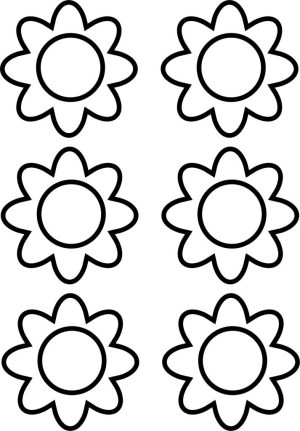 Image of Printable Daisy Crown