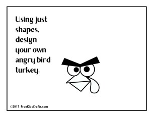 Image of DIY Angry Bird Turkey