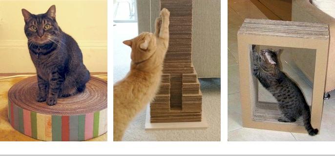 DIY Cat Scratching Post Ideas