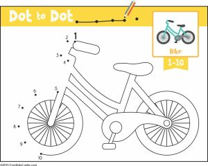 Image of Transportation Dot to Dot Activity
