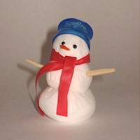 Image of Snow Dough Snowman
