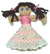 Image of Dressy Yarn Doll