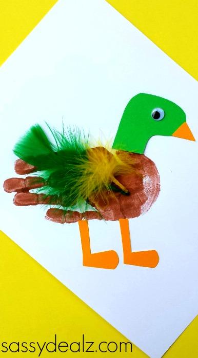 Image of Duck Handprint