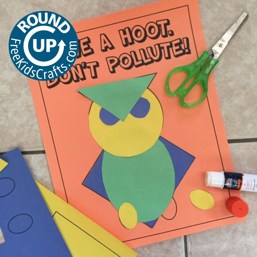 Round Up of Crafts and activities for Earth Day