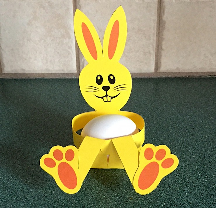 Image of Easter Bunny Egg Holder
