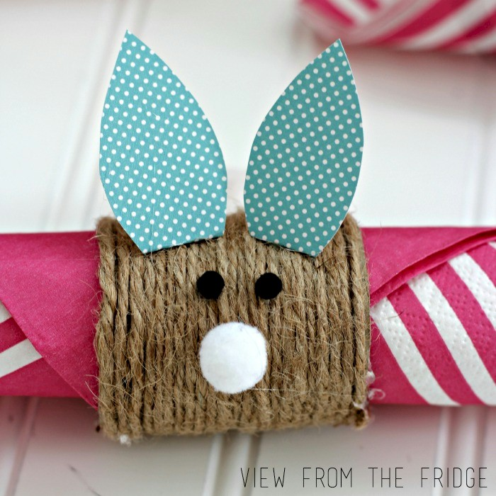 Image of Kids Easter Bunny Napkin Ring