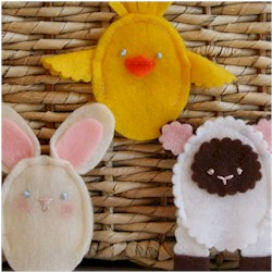 Image of Easter Finger Puppets