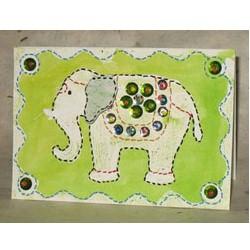 Image of Elephant Festival Batik Gift Card