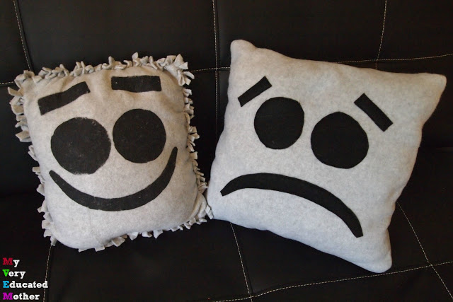 Easy Emoji Pillow