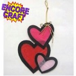 Image of Crayon Valentine Window Hanger