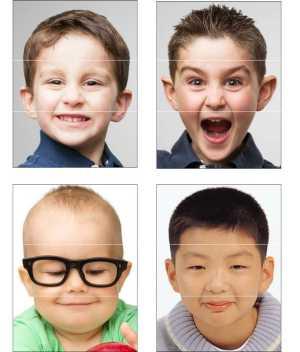 Image of Crazy Mixed Up Face Craft