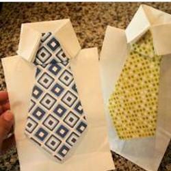 Tie Gift Bag