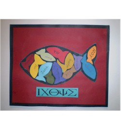 Image of Christian Fish Puzzle