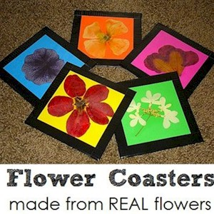 Image of Make Flower Coasters