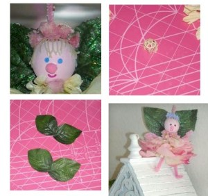 Image of Fabric Flower Fairy