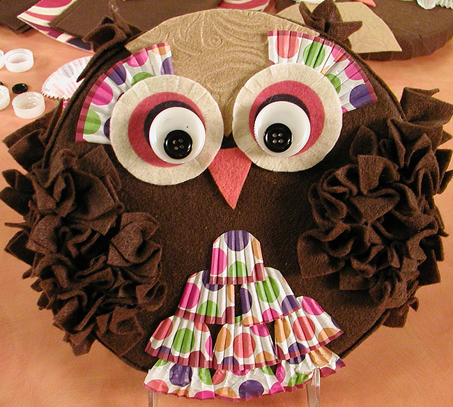 Image of Fun and Fluffy Felt Owl