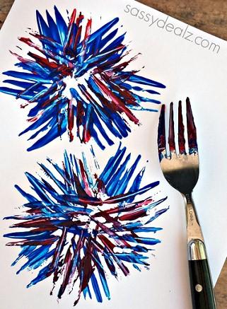 Image of Fork Fireworks