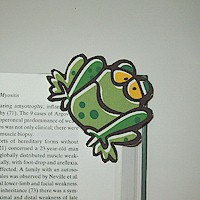 Image of Frog Bookmark
