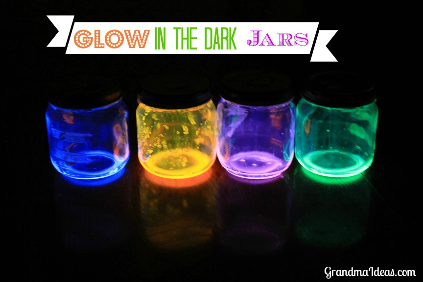 Image of Glow in the Dark Jars
