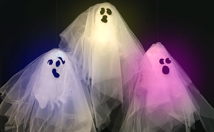 Image of Glowing Ghosts