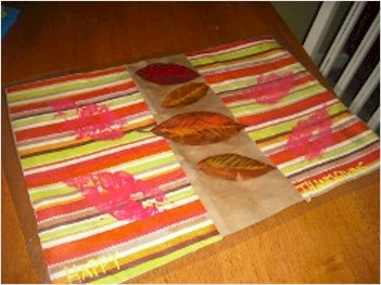 Grocery Bag Placemat