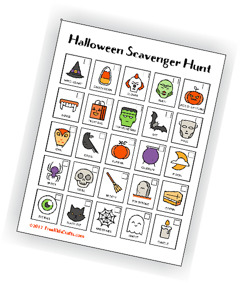 Image of Halloween Scavenger Hunt
