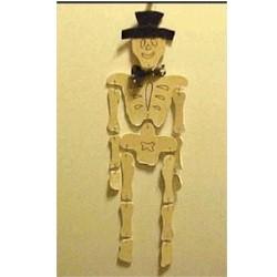 Image of Halloween Skeleton Mobile