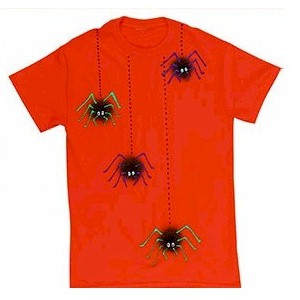Image of How To Make A Halloween Spider Tee Shirt