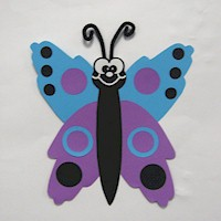 Image of Handprint Butterfly
