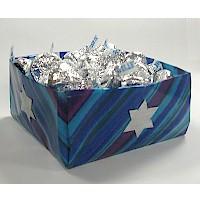 Hanukkah Origami Candy Dish
