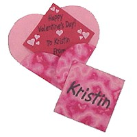 Image of Valentines with Heart Shaped Envelopes