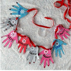 Image of Helping Hands Garland