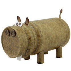 Image of Humongous Recycled Hippo