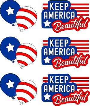 Image of Keep America Beautiful Bags